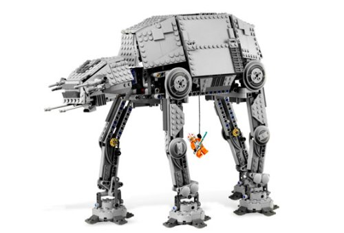 star wars imperial walker toy. LEGO Star Wars Motorized Walking AT-AT - Buy