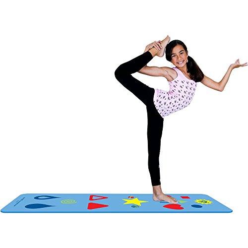 Kids Yoga Mat Color: Blue Sporting Goods Exercise Fitness