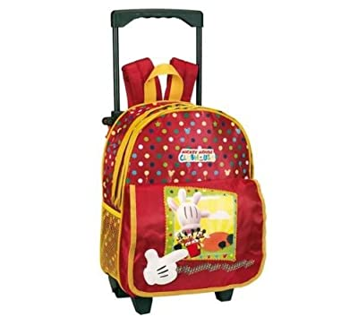 Mickey Trolley Case/Backpack from NEY