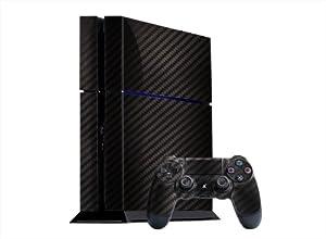 PlayStation 4 Skin (PS4) - - CARBON FIBER system skins faceplate decal mod