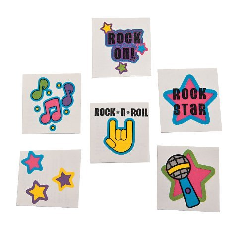 Rock Star Glitter Tattoos (72)
