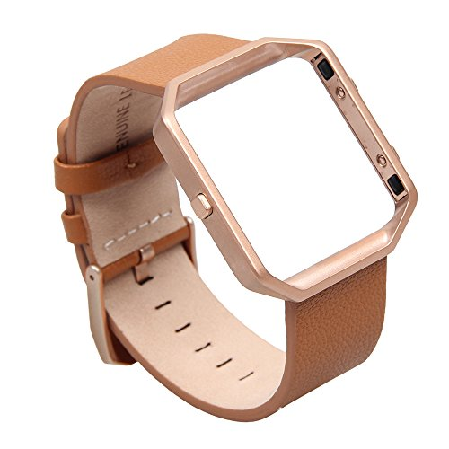 v-moro-for-fitbit-blaze-band-small-leather-bracelet-strap-replacement-band-with-metal-frame-for-fitb