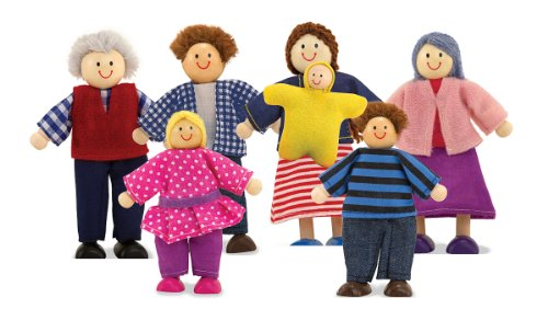 Melissa & Doug Doll Family (Dollhouse Family Figures compare prices)