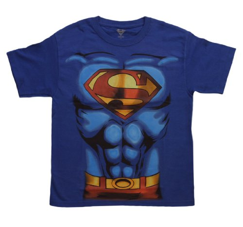 Big Boys' Superman Costume T-Shirt