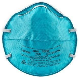3M 1860 Medical Mask N95 front-1030070