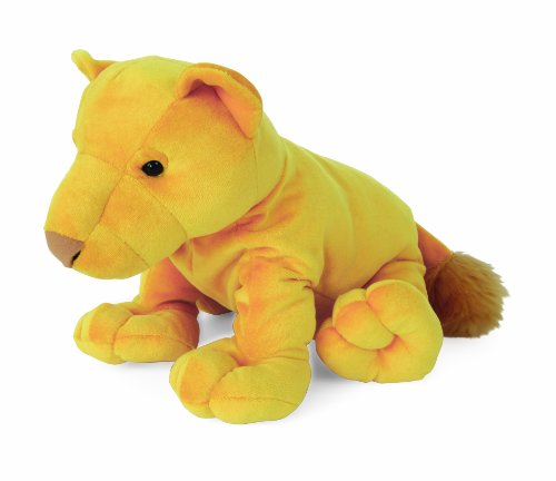 7.5 inches  Plush Feldikins Leland Lion Small - 1
