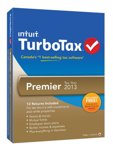 INTUIT TURBOTAX PREMIER TY13 [OLD VERSION]
