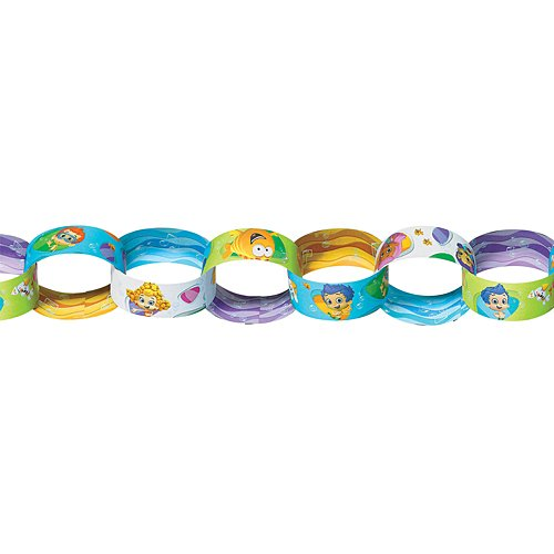 Bubble Guppies Paper Chain Garland Kit