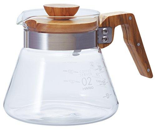 Hario en Bois d'Olivier 600 ml/cuillère à café/Transparent