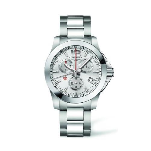 [ロンジン] LONGINES 腕時計 コンクェスト L3.700.4.76.6 メンズ [正規輸入品]
