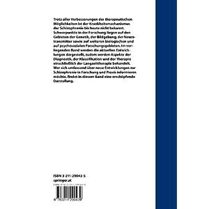 Aktuelle Aspekte der Pathogenese und Therapie der Schizophrenie (German Edition)