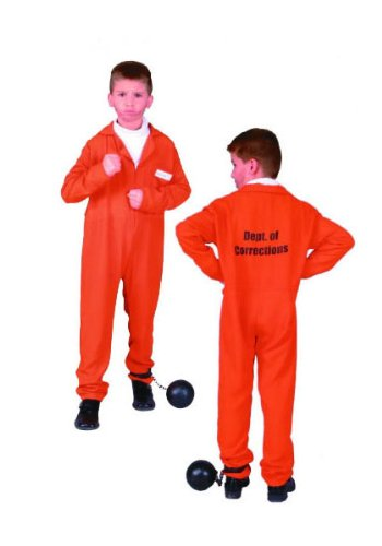 Escaped Convict - Child Small Costume - 1