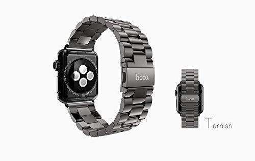 腕時計バンド Apple Watch対応 時計ベルト 高級 ビジネス風  アップルウォッチのバンドを交換! (錆, 42mm)