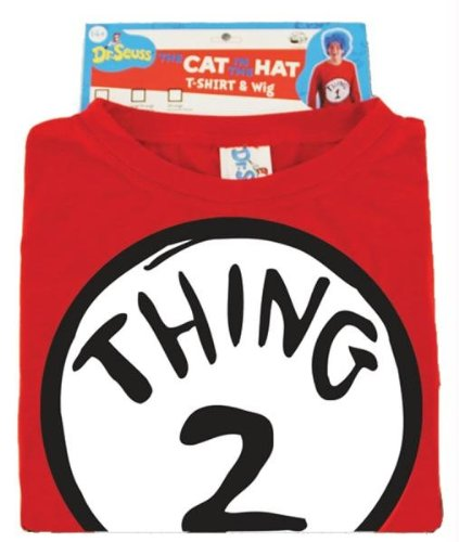 Costumes For All Occasions EL402260 Dr Seuss Thing 2 W Wig Lg-Xl