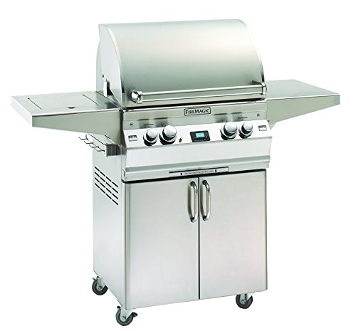 Aurora A430s2A1N62 Stand Alone NG Grill with Single Side Burner