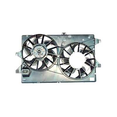 TYC For 06 07 08 09 10 11 12 RAV-4 Dual Radiator AC Condenser Cooling Fan Motor