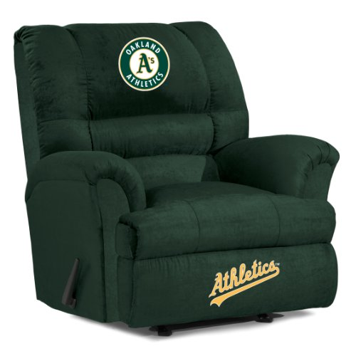 MLB Oakland Athletics Big Daddy Microfiber Recliner