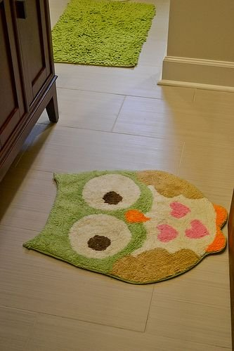 Circo Love n Nature Owl Bath Rug