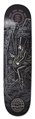 element-timber-twins-thriftwood-skateboard-deck-80-inch-by-eastern-distribution