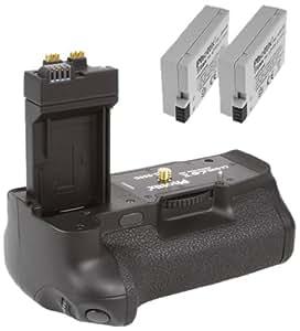 Phottix Batterie externe pour Canon EOS 550D 600D 650D 700D