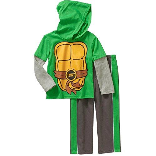 TMNT Hooded Pant Set - Ninjitsu, 3T (Kids Ninja Turtle Sweatshirt compare prices)