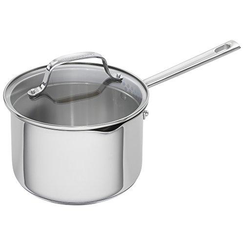 Emeril Lagasse 62956 Stainless Steel Saucepan, 3-Quart, Silver (Rice Saucepan compare prices)