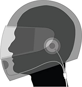 MFL Heavy Duty Full Face Helmet Headset for Cobra PMR Radios - includes VOX unit for handsfree use