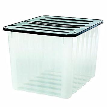 Maison fut e boite boite de rangement en plastique 75l cuisine maison maison m61 - Boite plastique cuisine ...