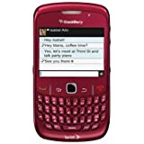 Blackberry Curve 8530 Sprint CDMA Cell Phone with 3G, OS 5.0, 2MP Camera, QWERTY Keyboard, GPS and Wi-Fi - Red