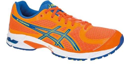 ASICS Men's Gel-DS Sky Speed 3 Running Trainer (T2C3N 3007) (Neon Orange/Neon Yellow/Marine Blue) (UK 12 / EU 48 / US 13)