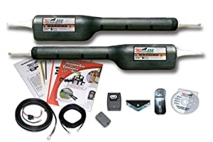Mighty Mule FM352 Gate Opener For Dual Gates Up to 16-Feet Long and 550-Pounds