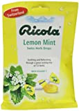 Ricola Organic Lemon Mint Bag 70 g (Pack of 6)