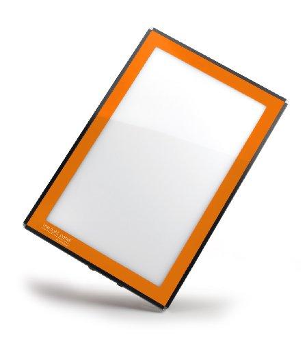 Porta-Trace LED Light Panel, Orange Frame, 16-by-18-Inch