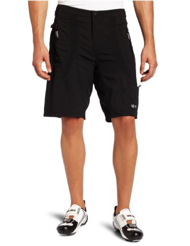 Buy Low Price Canari Cyclewear Men's Single Track Baggy Padded Cycling Short (1124 M SINGLE TRACK BAGGY)