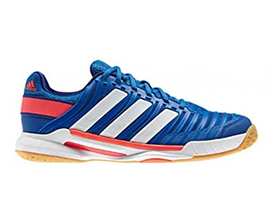 adidas  Adipower 10.1, Chaussures de Handball homme - - blau / weiß / rot, 39 1/3