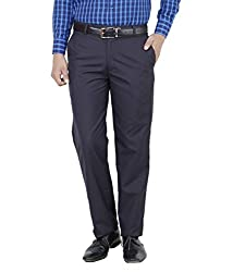 Frankline Men's Trouser (Frankline-98_ Navy_30)