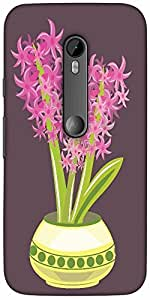 Snoogg Abstract Spring Illustration With Lots Of Flowerssolid Snap On - Back ...