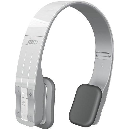 Hmdx Audio Hx-P610Wt Jam Fusion Bluetooth Stereo Headphones, White