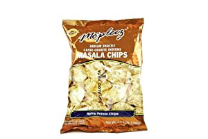 Haldiram Mo'pleez Masala Chips - Spicy Potato Chips (Pack of 4)