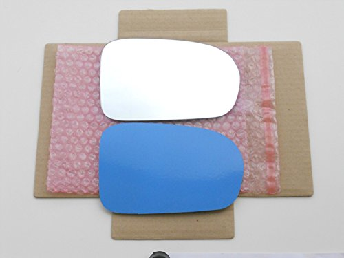 New Replacement Mirror Glass with FULL SIZE ADHESIVE for 01-05 Honda Civic NON HATCHBACK Passenger Side View Right RH