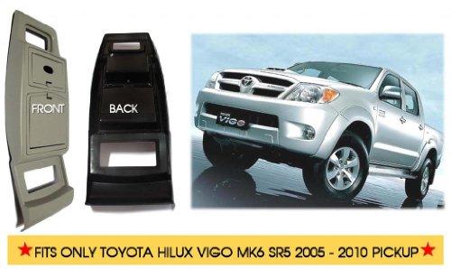 CHROME RING FOG LAMP SPOT LIGHT COVER FOR TOYOTA HILUX VIGO SR5 MK6 2009-2011