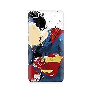 Mobicture Superman Abstract Premium Printed Case For Vivo X5