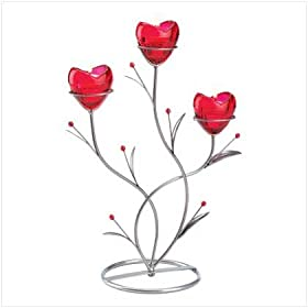 Heart Bouquet Candle Holders