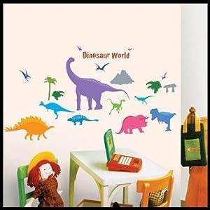 Dinosaur World Repositional Wall Decal by HYUNDAE Sheet