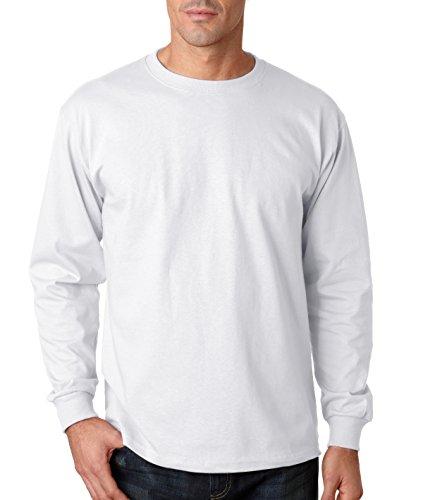Alternative Men's Basic Crew T-Shirt, White, Small