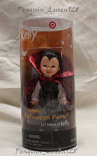 Tommy Halloween Party Li'l Friend of Kelly Tommy As a Vampire Black Vest Target 2001 - 1