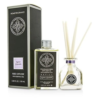 The Candle Company Reed Diffuser With Essential Oils - Water Hyacinth- 100ml/3.38oz