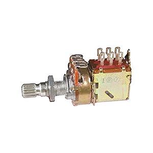 Gibson Gear PPAT-520 500k Ohm Audio Taper Push-Pull, Short Shaft