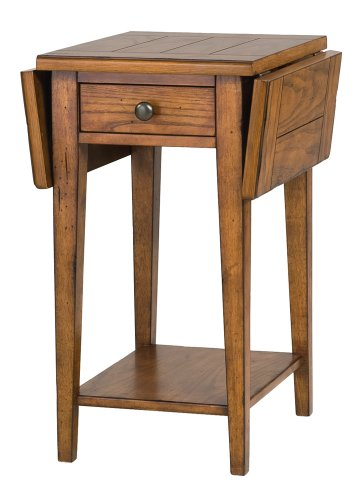 Cheap Mackenzie Drop Leaf End Table (T1367-14)