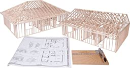 Pitsco True Scale House Framing Kit